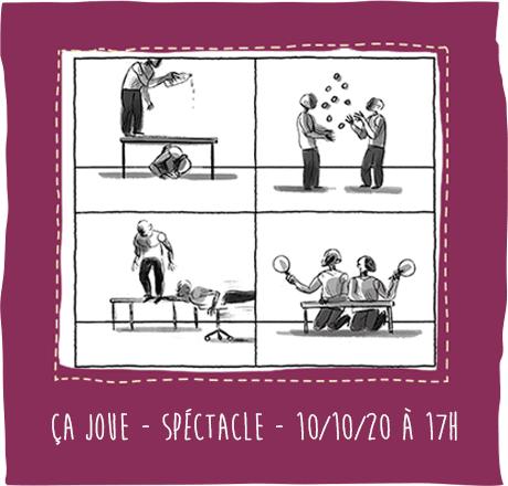 Ça joue – Spectacle – 10/10/20 à 17h